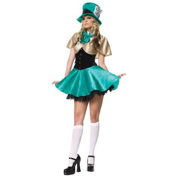 Leg Avenue Tea Party Hostess Costume St Patty's